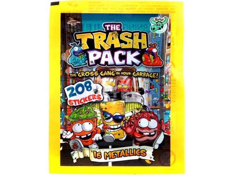 Trash Pack kukabúvár gyűjthető matrica