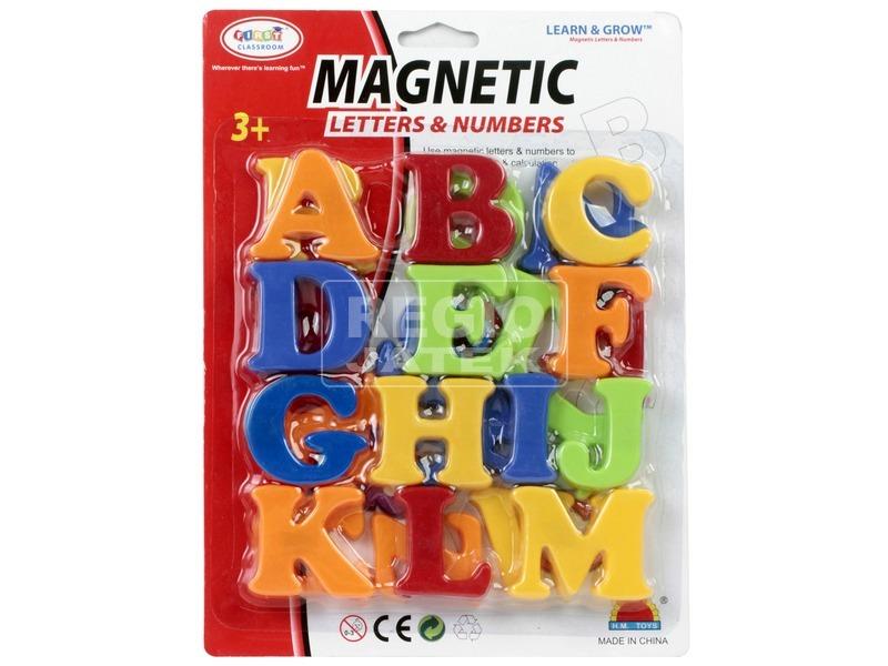 Mágneses betűk vagy számok - 5 cm, többféle