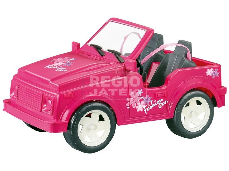 kép nagyítása Terepjáró autó játékbabákhoz - rózsaszín