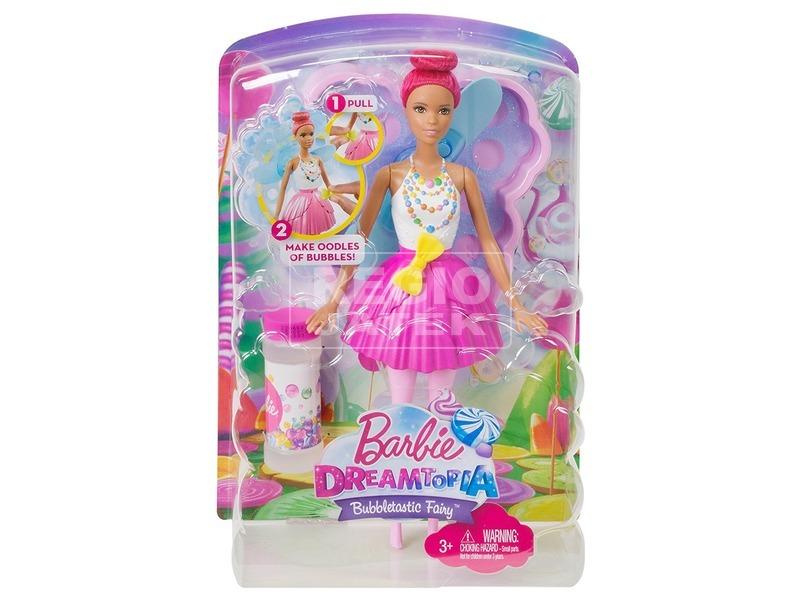 Barbie: Dreamtopia buborékfújó tündér - többféle