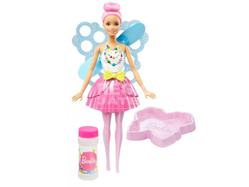 kép nagyítása Barbie: Dreamtopia buborékfújó tündér - többféle