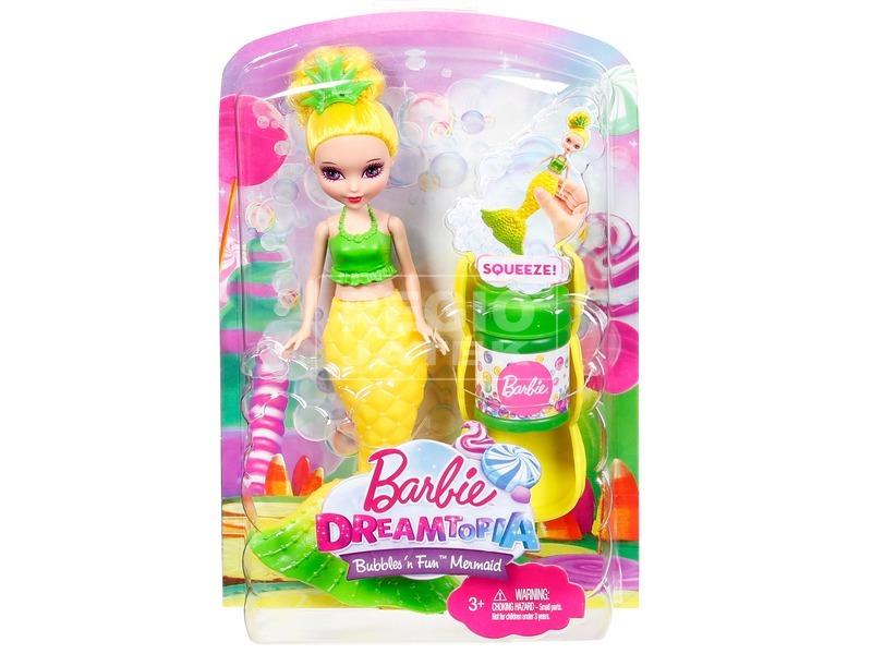 Barbie: Dreamtopia buborékfújó sellő - többféle