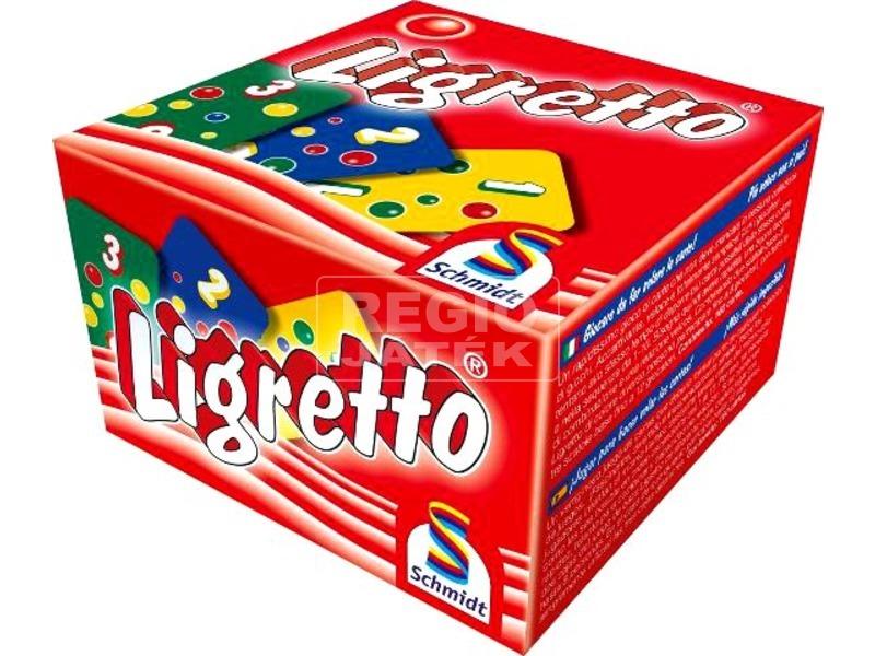 Ligretto társasjáték - piros kiadás