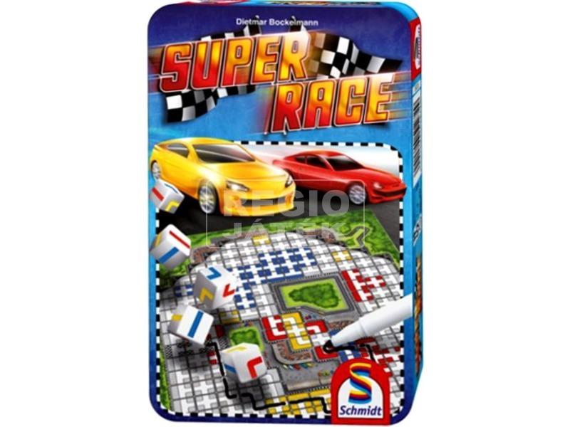 Super Race fémdobozos társasjáték