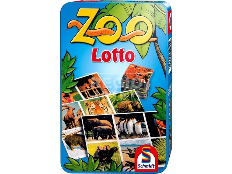 Zoo Lotto fémdobozos társasjáték