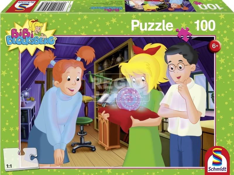 Bibi Blocksberg varázsgömb 100 darabos puzzle