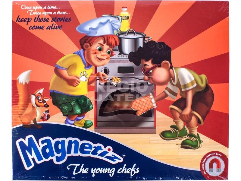 Magnetiz: Kis szakácsok mágneses képkirakó