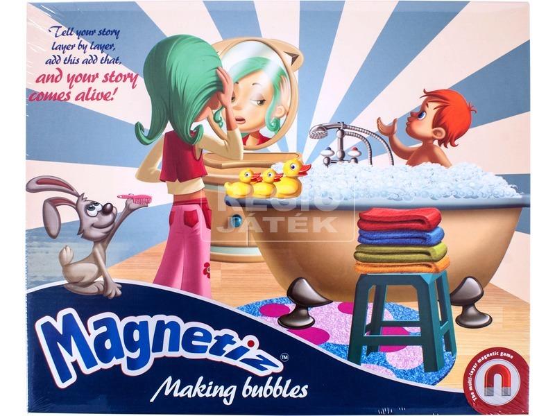 Magnetiz: Habfürdő mágneses képkirakó