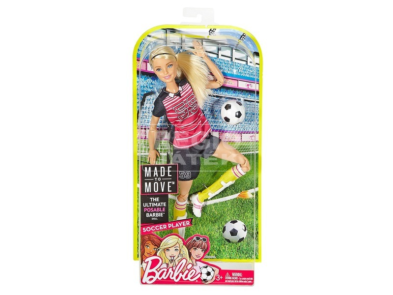 Barbie: Sportoló Barbie baba - 29 cm, többféle