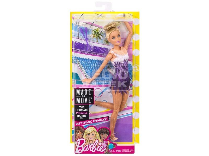 kép nagyítása Barbie: Sportoló Barbie baba - 29 cm, többféle