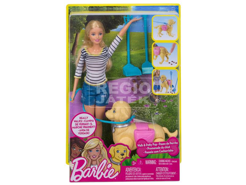 Barbie: Kutyusgondozó készlet - 29 cm