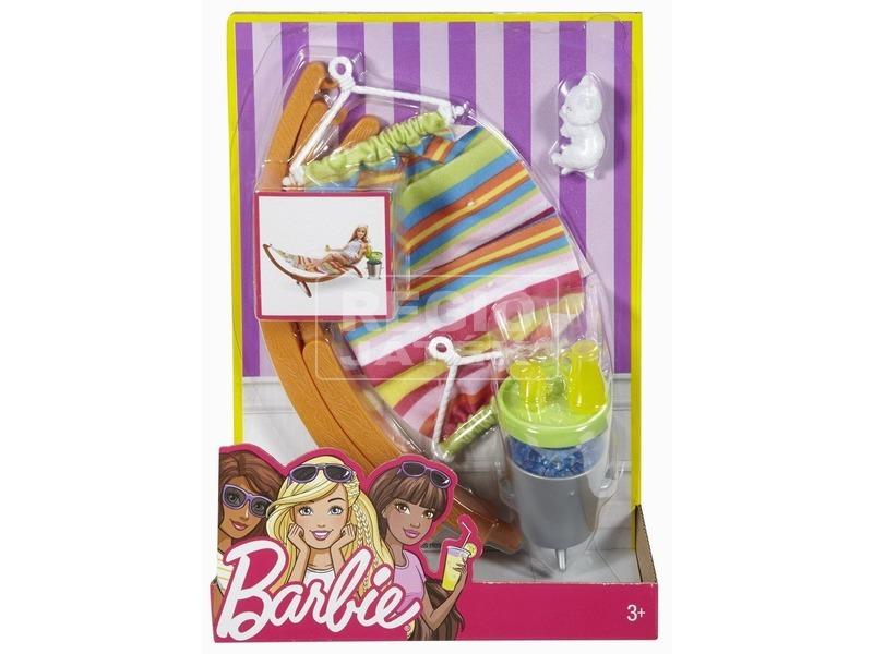 Barbie: kerti bútor kiegészítőkkel - többféle