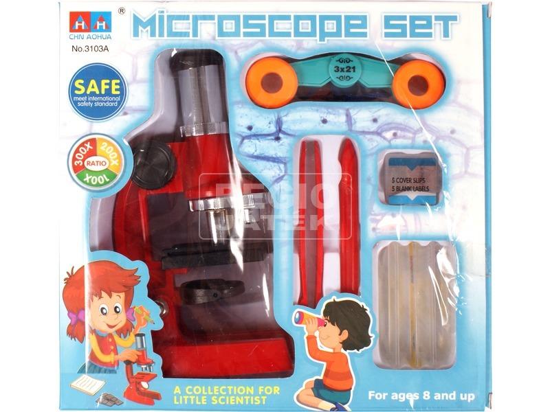 Mikroszkóp és távcső készlet