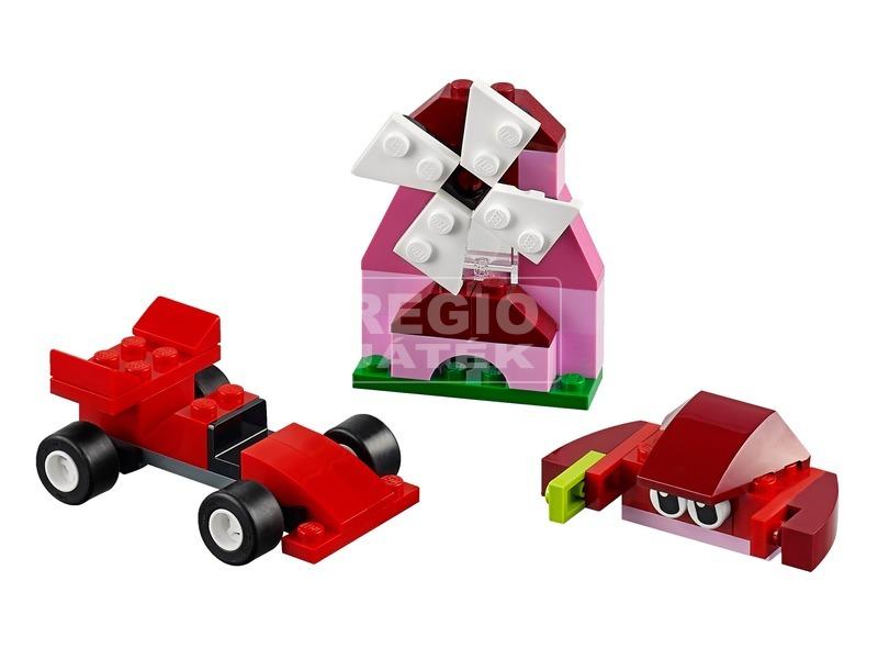 kép nagyítása LEGO® Classic Piros kreatív készlet 10707