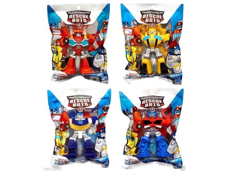 Transformers Rescue Bots: mentőrobot figura - többféle