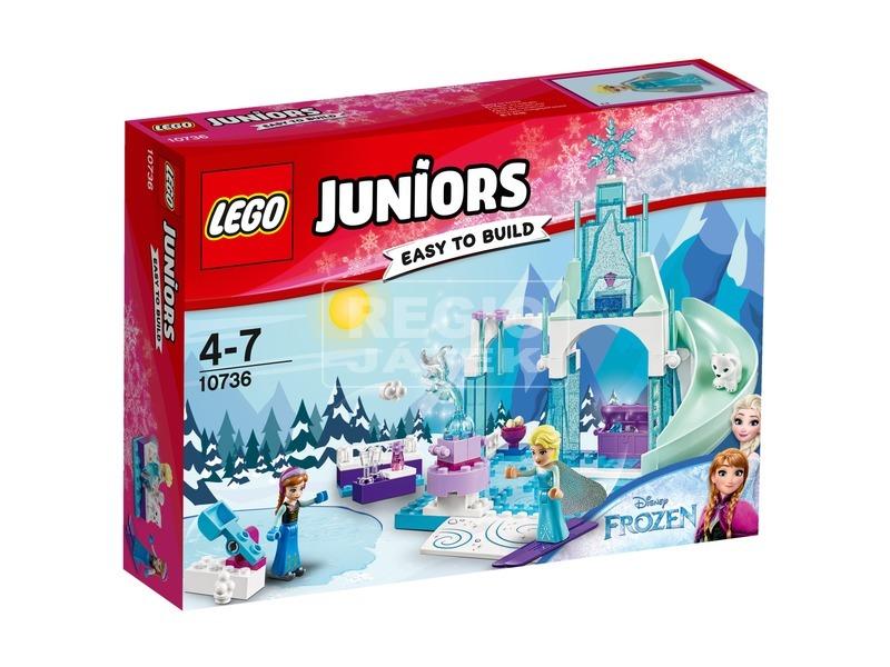 LEGO® Juniors Anna és Elsa fagyott játszótere 10736