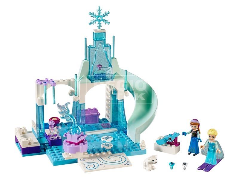 kép nagyítása LEGO® Juniors Anna és Elsa fagyott játszótere 10736
