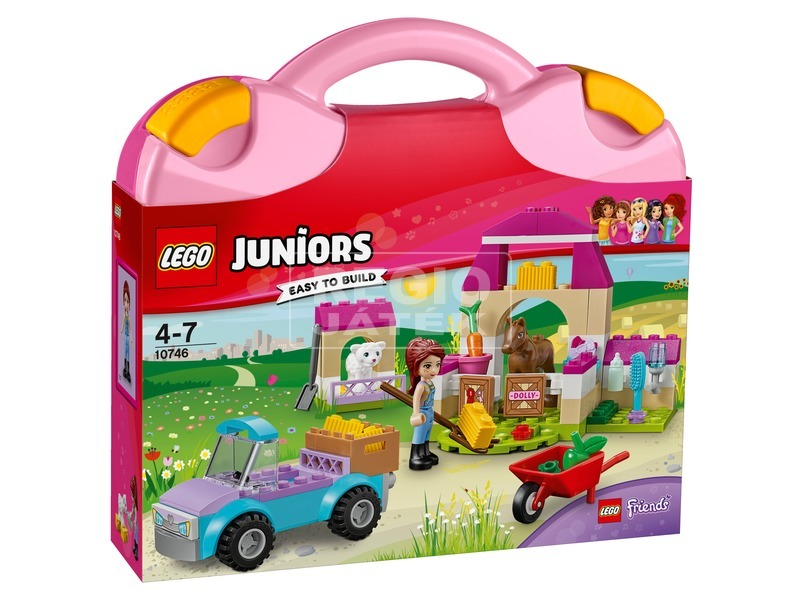 LEGO Juniors Mia farm játékbőröndje 10746