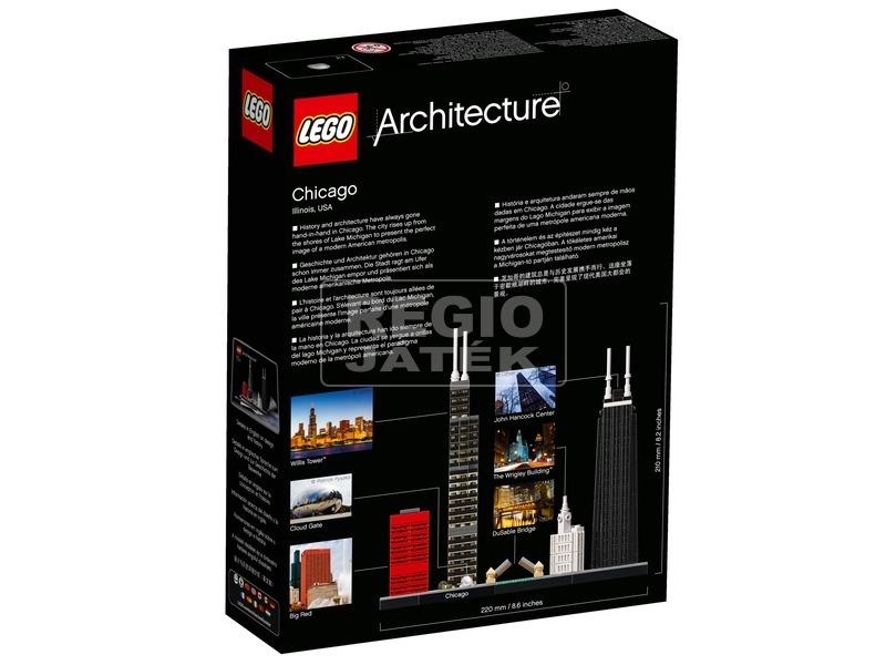 kép nagyítása LEGO® Architecture Chicago 21033