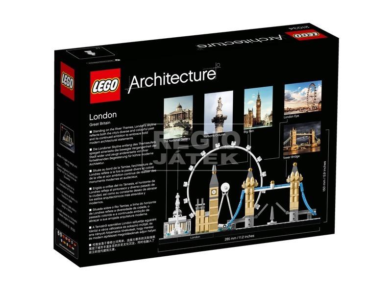 kép nagyítása LEGO® Architecture London 21034