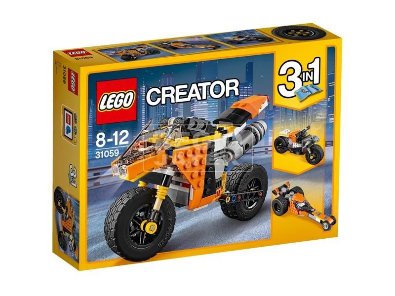 LEGO® Creator Narancssárga városi motor 31059