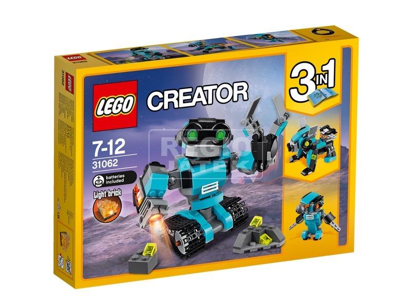 LEGO® Creator Robot felfedező 31062
