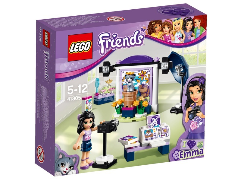 LEGO Friends Emma fotóstúdiója 41305