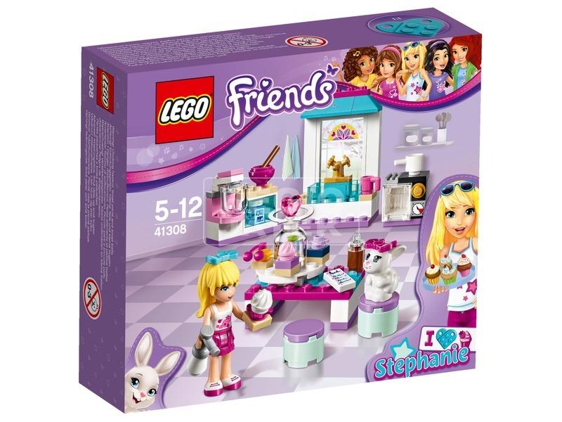 LEGO Friends Stephanie barátság sütije 41308