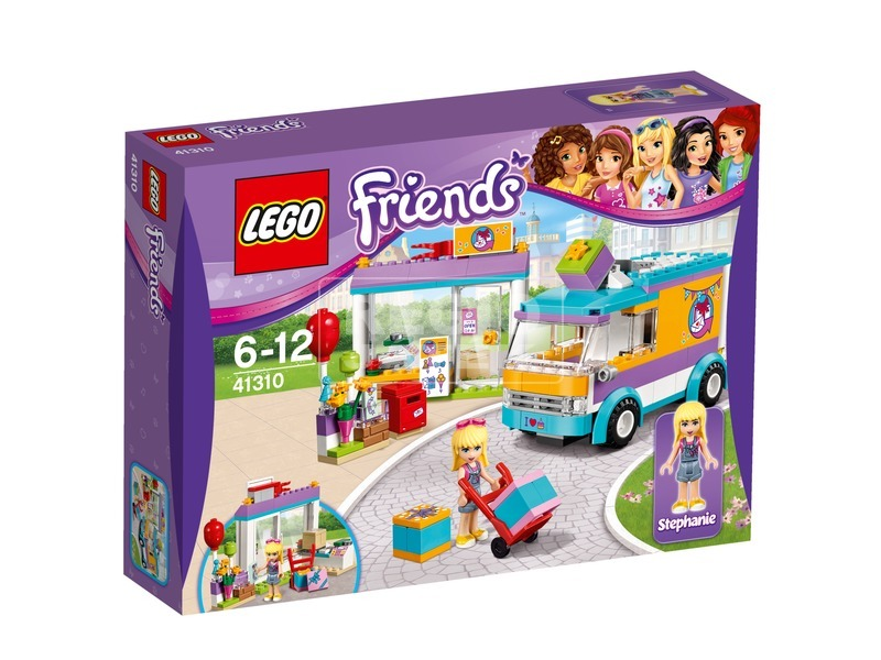 LEGO Friends Heartlake csomagküldő szolgálat 41310