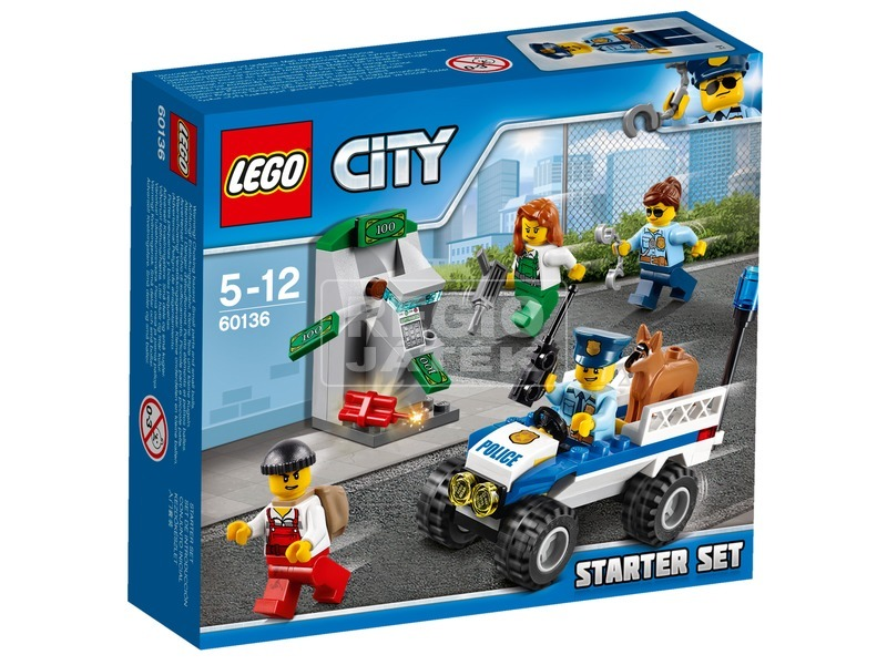LEGO City Rendőrségi kezdőkészlet 60136