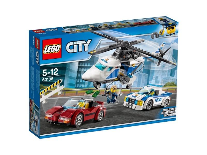 LEGO® City Gyorsasági üldözés 60138