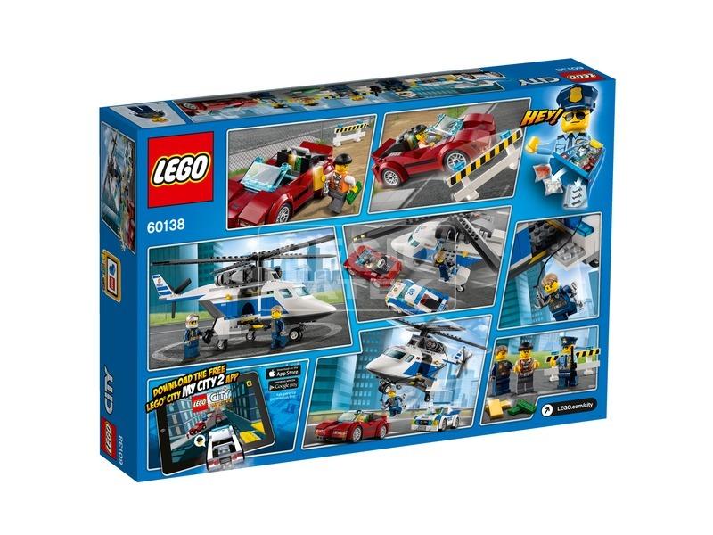 kép nagyítása LEGO® City Gyorsasági üldözés 60138