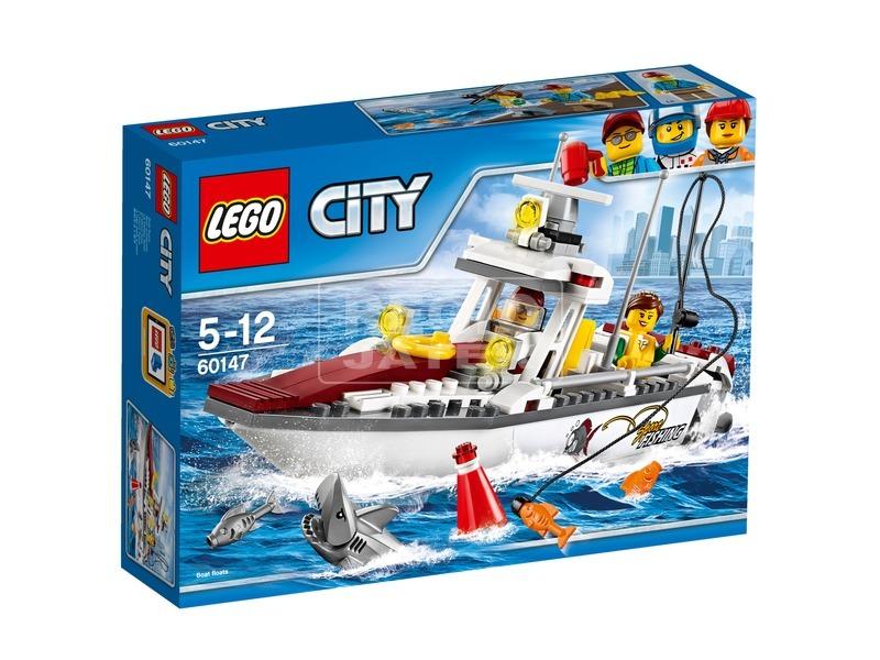 LEGO City Horgászcsónak 60147