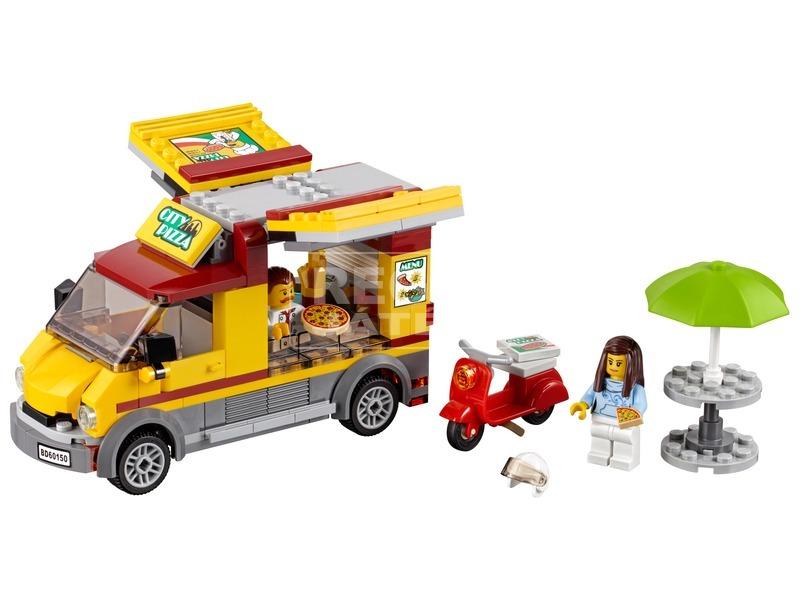 kép nagyítása LEGO® City Pizzás furgon 60150
