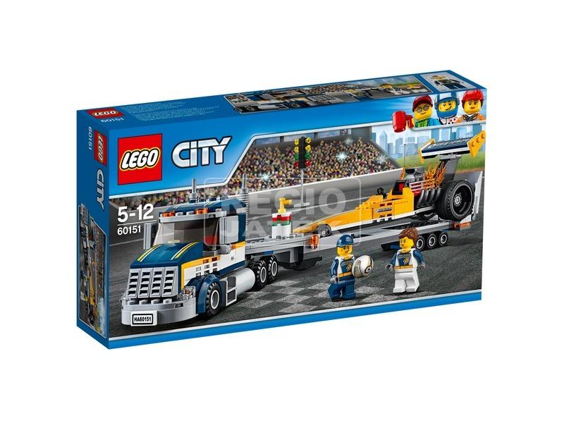 LEGO® City Dragster szállító kamion 60151