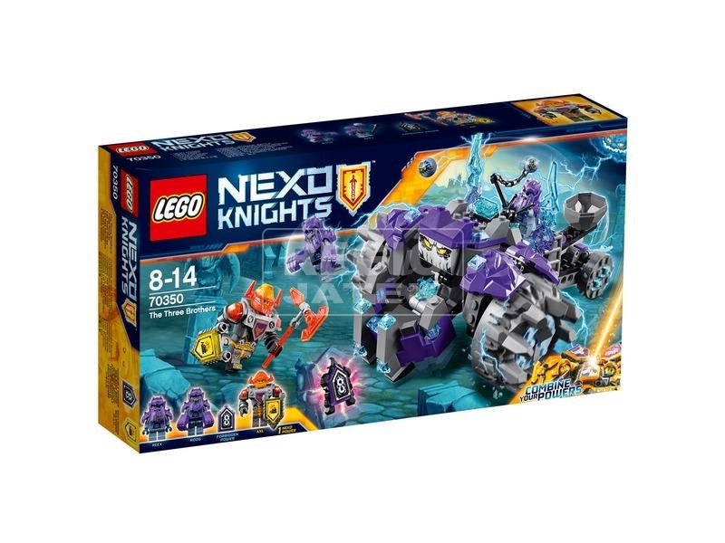 LEGO® Nexo Knights A három testvér 70350