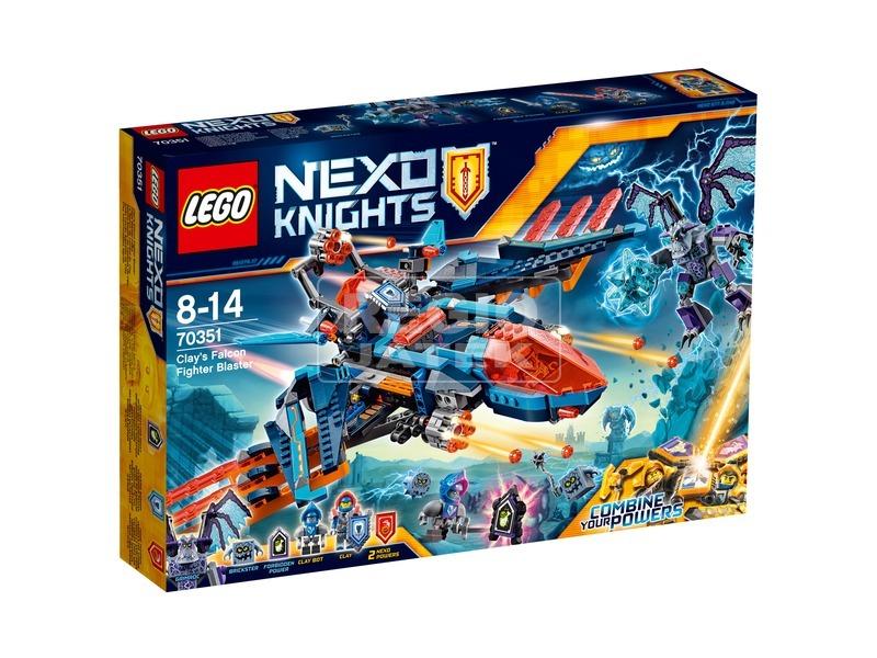 LEGO Nexo Knights Clay sólyomvadász ágyúja 70351