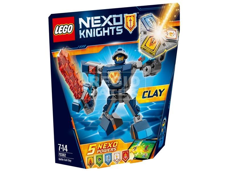 LEGO Nexo Knights Clay harci öltözéke 70362