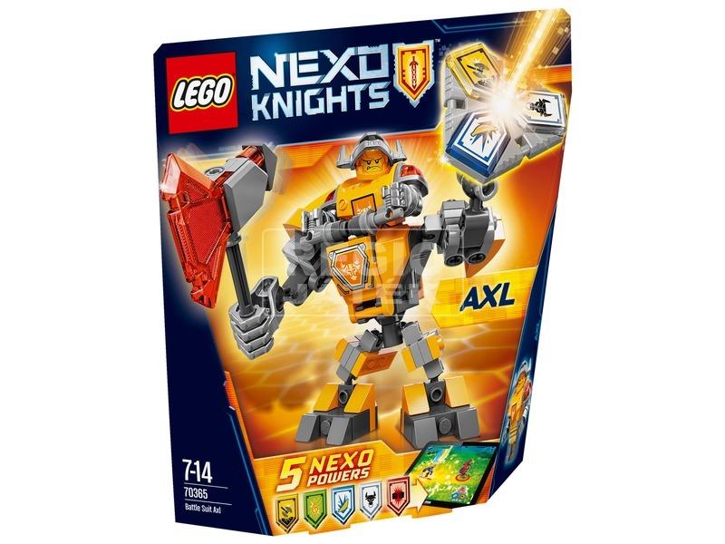 LEGO Nexo Knights Axl harci öltözéke 70365