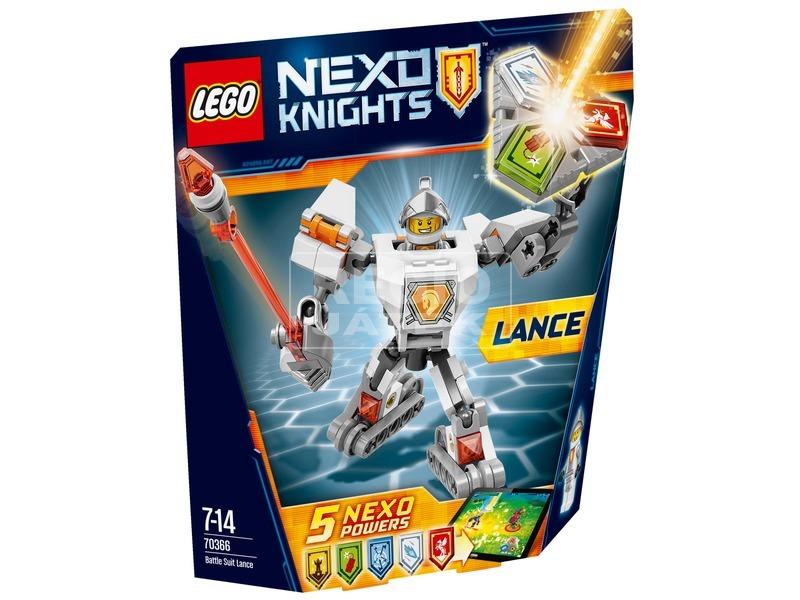 LEGO Nexo Knights Lance harci öltözéke 70366