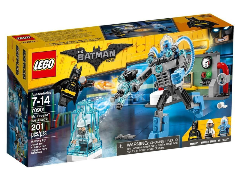 LEGO Batman Movie Mr Fagy dermesztő támadása 70901