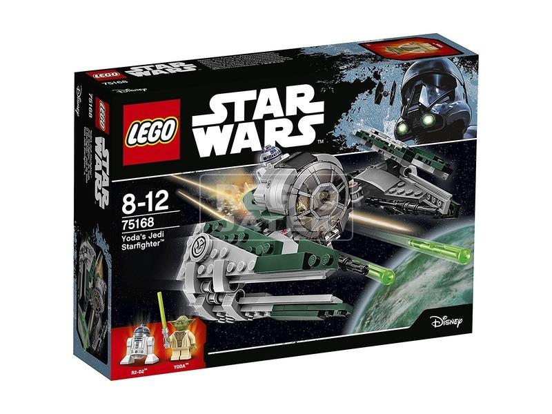 LEGO Star Wars Yoda Jedi Starfighter 75168