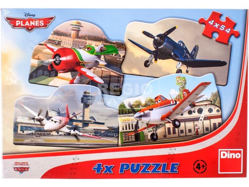 Repcsik 4 x 54 darabos puzzle