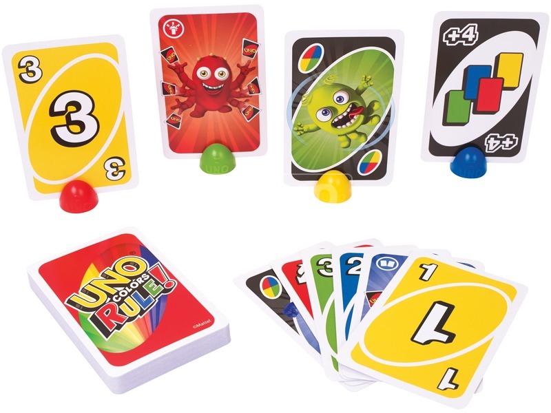 kép nagyítása Színerő UNO kártyajáték