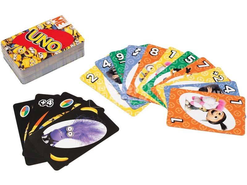 kép nagyítása Gru 3 UNO kártyajáték