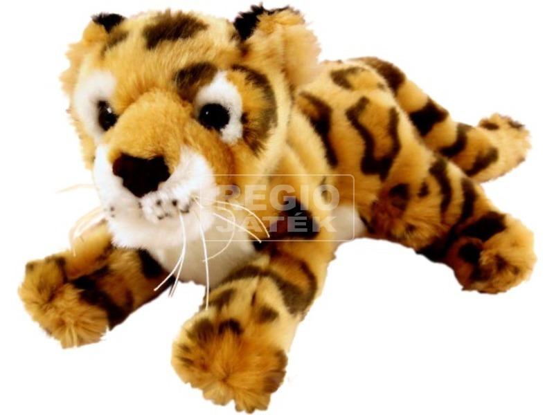Leopárd fekvő plüss 9ö