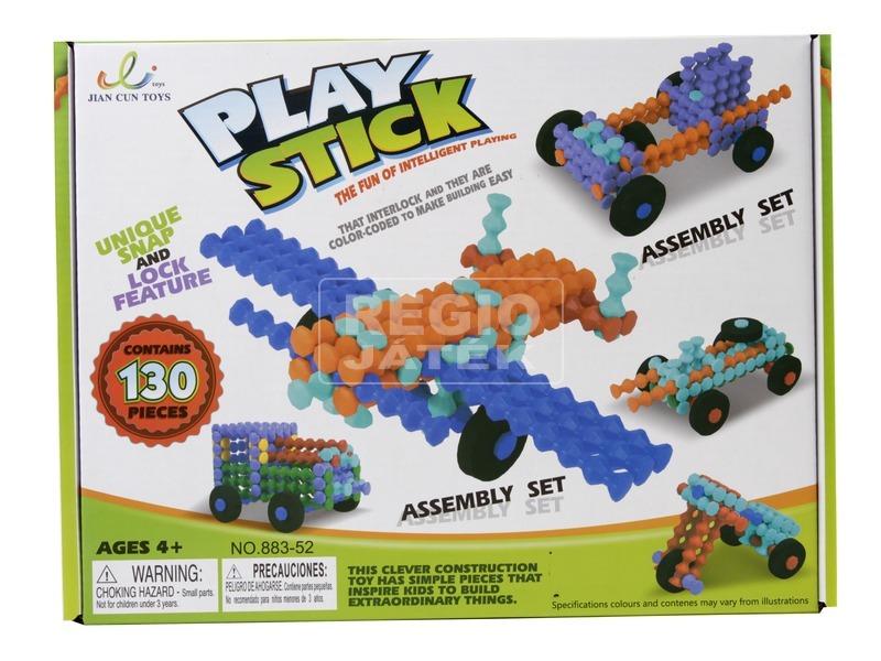 Play Stick rudak 130 darabos építőjáték
