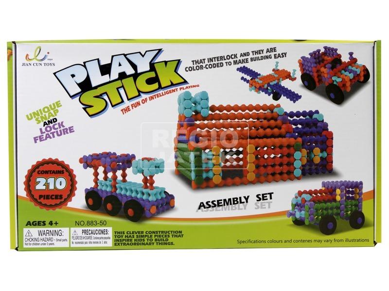 Play Stick rudak 210 darabos építőjáték