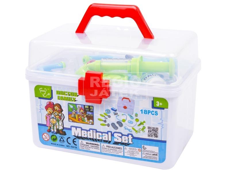 Orvosi doboz 18 darabos készlet
