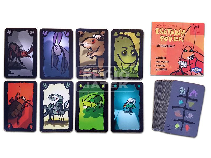 kép nagyítása Csótány póker royal kártyajáték